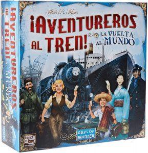 Juegos de mesa de Aventureros al tren La vuelta al mundo de estrategia y tablero