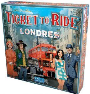 Juegos de mesa de Aventureros al tren Londres de estrategia y tablero