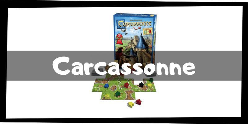 Juegos de mesa de Carcassonne - Juegos de mesa imprescindibles - Los mejores juegos de mesa del mercado