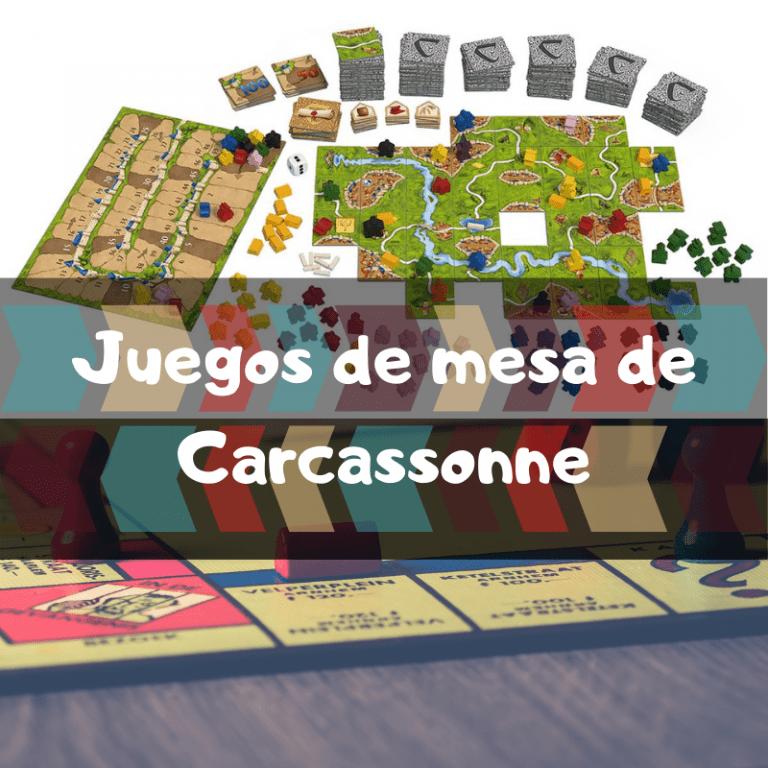 Los mejores juegos de mesa de Carcassonne
