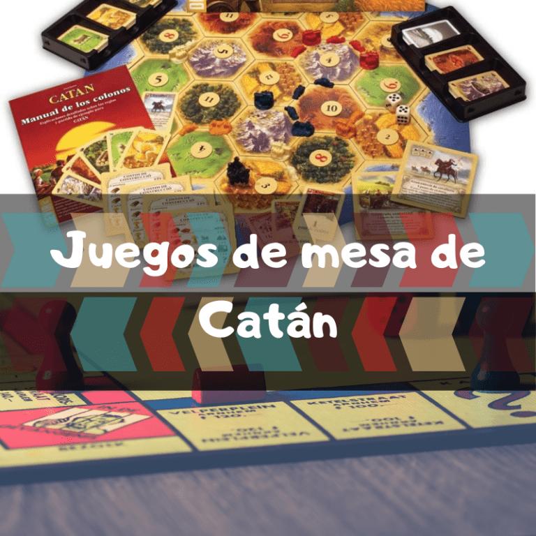 Los mejores juegos de mesa de Catán