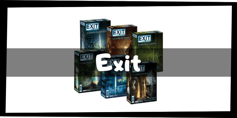 Juegos de mesa de Exit - Juegos de mesa imprescindibles - Los mejores juegos de mesa del mercado