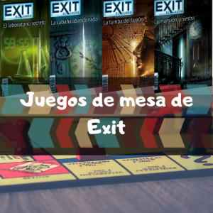 Juegos de mesa de Exit - Los mejores juegos de mesa del Exit de cartas de escape