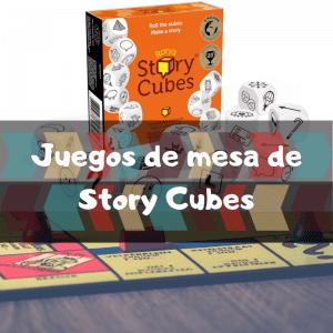 Juegos de mesa de Story Cubes - Los mejores juegos de mesa del Story Cubes