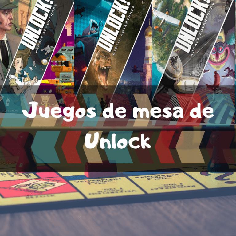 Los mejores juegos de mesa de Unlock