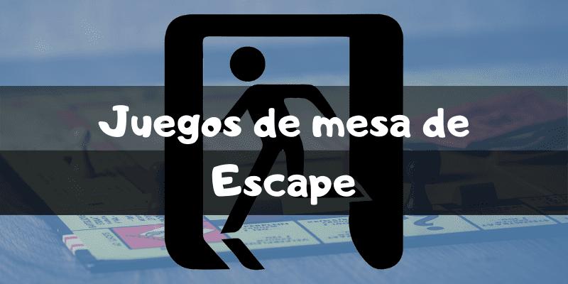Juegos de mesa de escape room - Los mejores juegos de mesa - Juegosdemesaypuzzles.com