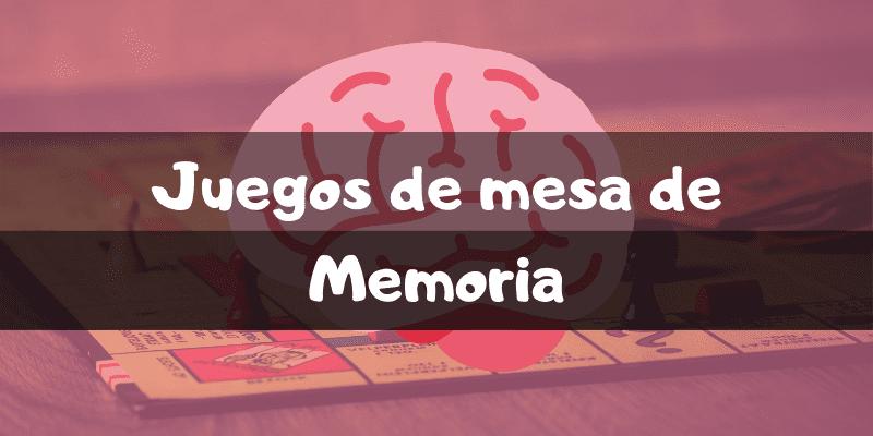 Juegos de mesa de memoria - Los mejores juegos de mesa - Juegosdemesaypuzzles.com