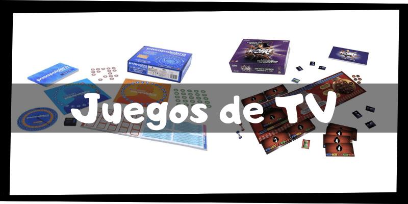 Juegos de mesa de televisión - Juegos de mesa imprescindibles - Los mejores juegos de mesa del mercado