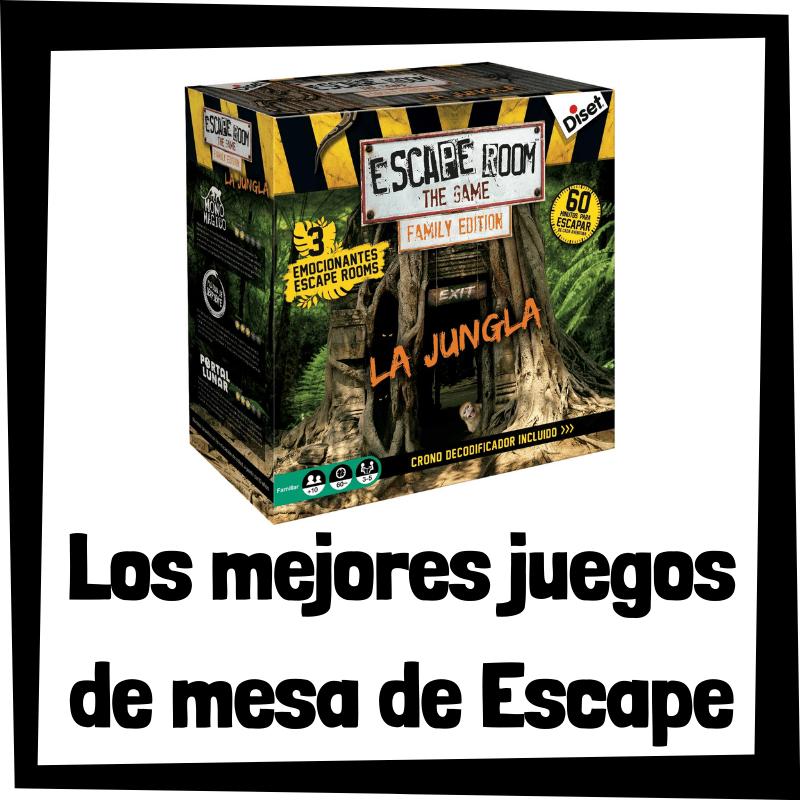 Los mejores juegos de mesa de Escape Room - Juegos de mesa populares
