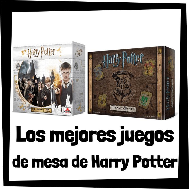 Los mejores juegos de mesa de Harry Potter - Juegos de mesa populares