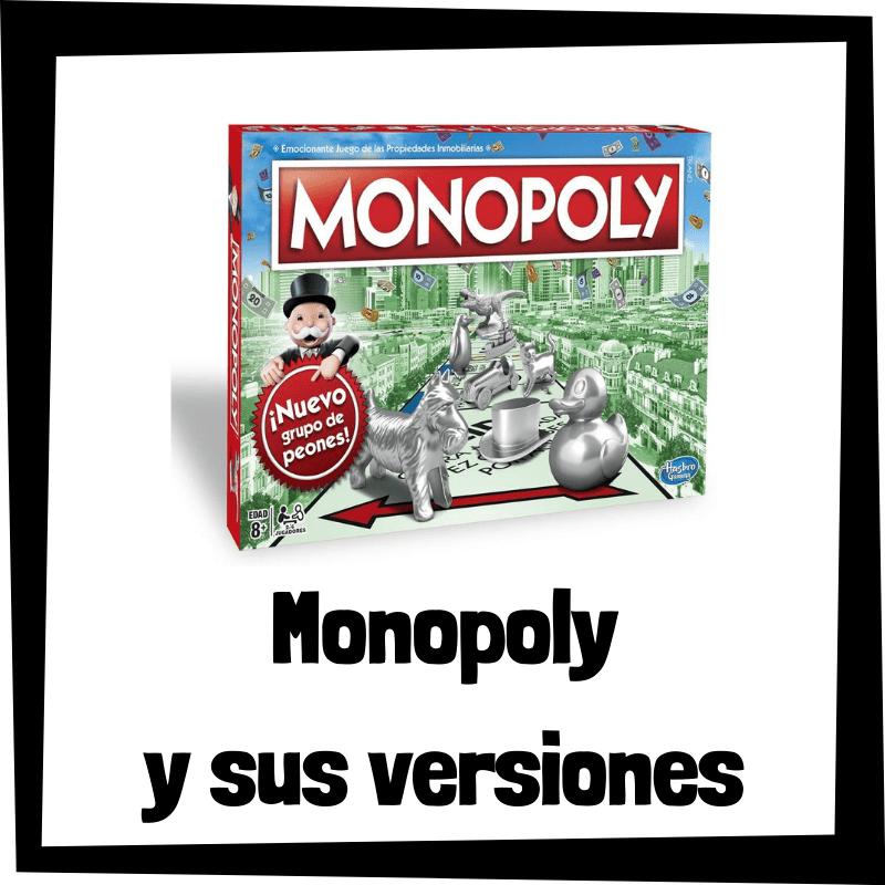 Los mejores juegos de mesa de Monopoly - Juegos de mesa populares