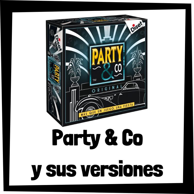 Los mejores juegos de mesa de Party and Co - Juegos de mesa populares
