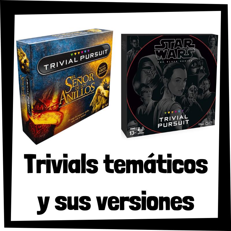 Los mejores juegos de mesa de Trivials temáticos - Juegos de mesa populares