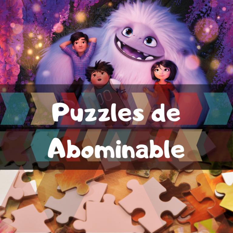 Los mejores puzzles de Abominable