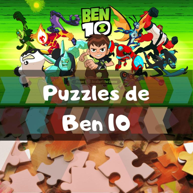 Los mejores puzzles de Ben 10