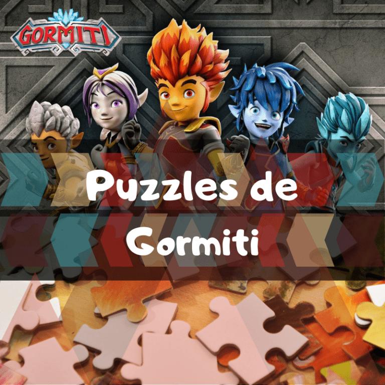 Los mejores puzzles de Gormiti