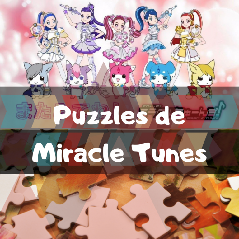 Los mejores puzzles de Idol x Warrior Miracle Tunes