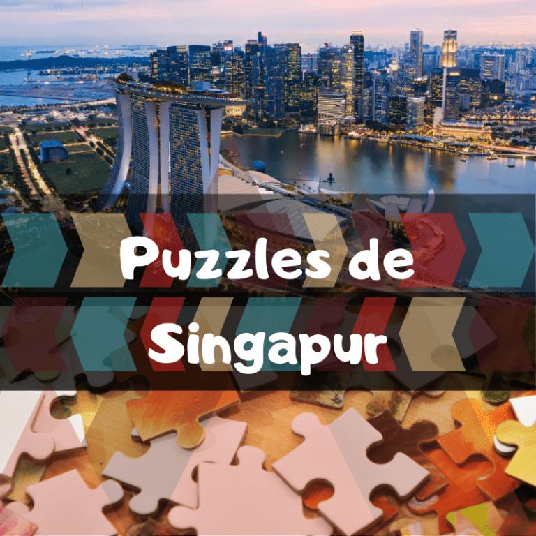 Los mejores puzzles de Singapur