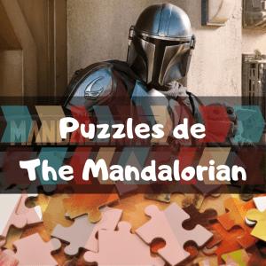 Los mejores puzzles de The Mandalorian - Puzzles de The Mandalorian de Star Wars