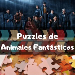 Los mejores puzzles de animales fantásticos y donde encontrarlos - Puzzles de animales fantásticos y donde encontrarlos - Puzzle de Harry Potter
