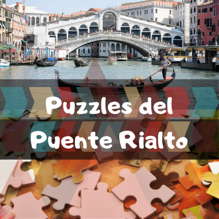 Los mejores puzzles del puente Rialto de Venecia