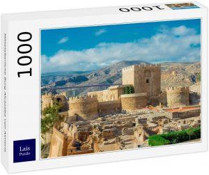Puzzle de Castillo Medieval en Almería de 1000 piezas de Lais - Los mejores puzzles de Almería