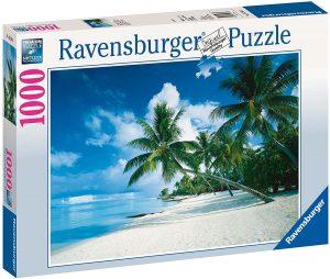 Puzzle de Playa Hawai de 1000 piezas de Ravensburger - Los mejores puzzles de Hawái - Hawaii - Puzzle de Hawaii