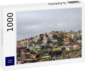 Puzzle de casas de Ceuta de 1000 piezas de Lais - Los mejores puzzles de Ceuta