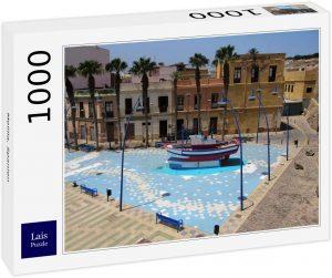 Puzzle de casas de Melilla de 1000 piezas de Lais - Los mejores puzzles de Melilla