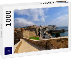 Puzzle de paisaje de Ceuta de 1000 piezas de Lais - Los mejores puzzles de Ceuta