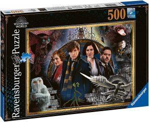 Puzzle de personajes de Animales fantásticos de 500 piezas de Ravensburger - Los mejores puzzles de Fantastic Beasts de Harry Potter