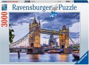Puzzle del Puente de Londres de 3000 piezas de Ravensburger - Los mejores puzzles de Tower Bridge - Puzzles del Puente de Londres