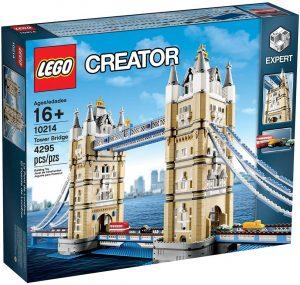 Puzzle del Puente de Londres de LEGO en 3D de 4295 piezas - Los mejores puzzles de Tower Bridge - Puzzles del Puente de Londres