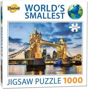 Puzzle del Tower Bridge de 1000 piezas de Cheatwell - Los mejores puzzles de Tower Bridge - Puzzles del Puente de Londres