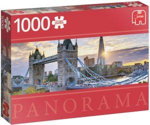 Puzzle del Tower Bridge de 1000 piezas de Jumbo - Los mejores puzzles de Tower Bridge - Puzzles del Puente de Londres