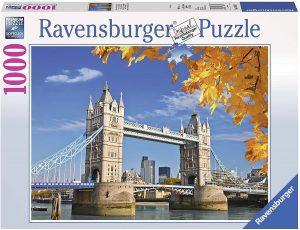 Puzzle del Tower Bridge de día de 1000 piezas de Ravensburger - Los mejores puzzles de Tower Bridge - Puzzles del Puente de Londres