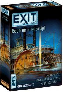 Robo en el Misisipi de Exit - Los mejores juegos de mesa de Exit