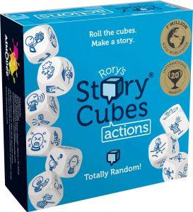 Story Cubes Acciones - Juegos de mesa de Story Cubes - Los mejores juegos de mesa de creatividad y aventuras de Story Cubes