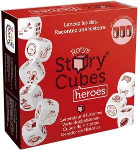 Story Cubes Héroes - Juegos de mesa de Story Cubes - Los mejores juegos de mesa de creatividad y aventuras de Story Cubes