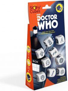 Story Cubes de Doctor Who - Juegos de mesa de Story Cubes - Los mejores juegos de mesa de creatividad y aventuras de Story Cubes
