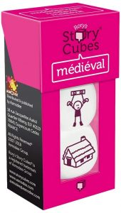 Story Cubes de Medieval - Juegos de mesa de Story Cubes - Los mejores juegos de mesa de creatividad y aventuras de Story Cubes