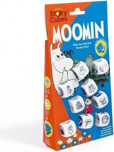 Story Cubes de Moomin - Juegos de mesa de Story Cubes - Los mejores juegos de mesa de creatividad y aventuras de Story Cubes