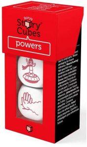 Story Cubes de Poderes - Juegos de mesa de Story Cubes - Los mejores juegos de mesa de creatividad y aventuras de Story Cubes