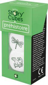 Story Cubes de prehistoria - Juegos de mesa de Story Cubes - Los mejores juegos de mesa de creatividad y aventuras de Story Cubes
