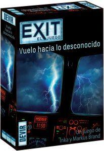 Vuelo hacia lo desconocido de Exit - Los mejores juegos de mesa de Exit