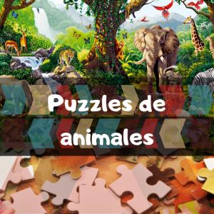 los mejores puzzles de animales - Puzzle de grupos de animales