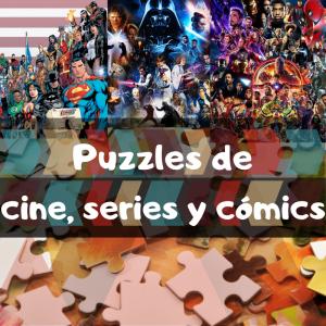 los mejores puzzles de cine, series y cómics - Puzzle de series y películas
