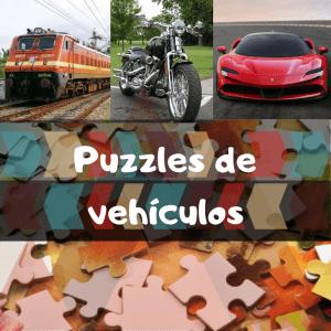 los mejores puzzles de vehículos - Puzzle de coches, motos, trenes, aviones, etc