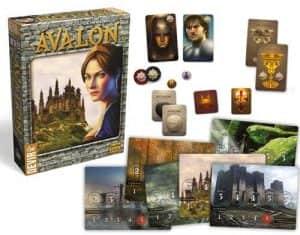 Ávalon Tablero - Juegos de mesa de Ávalon - Los mejores juegos de mesa de cooperativo y rol