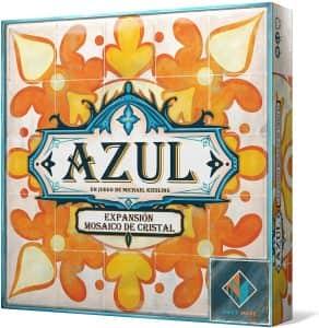 Azul Expansión Mosaico de Cristal - Juegos de mesa de Azul de azulejos - Los mejores juegos de mesa de estrategia de Azul
